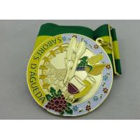 3D SABORES Ribbon Medals, Die Casting, High 3D and High Polishing for Souvenir Gift Manufactures