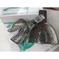Autoclavable Dental Impression Trays Premium Quality Perforated Size #6 Manufactures