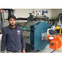Buy cheap YYQW 2 Ton Gas Oil Fired Thermic Oil Boiler For Plastic Tape Factory Pakistan from wholesalers
