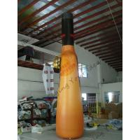 UV Protective PVC Tarpaulin Inflatable Bottle For Indoor Activities With Silk - Screen Printing Manufactures