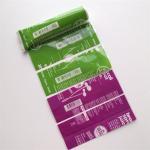 Waterproof Printed Shrink Wrap Bottle Labels PVC/PET For Snack Food Vegus Juices Manufactures