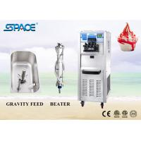 Fast Refrigeration Commercial Soft Ice Cream Machine With 3 Flavor 220V Manufactures