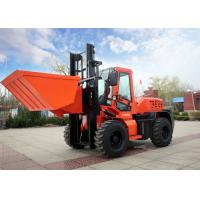 China Durable FD35W 3.5T All Terrain Forklift With Solid Tyre And Low Maintence on sale