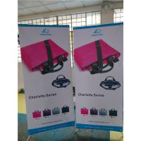 "Adjustable X Stand Banners Pvc Film With Grommets Long Life Printed  32"" X 70"" Manufactures"