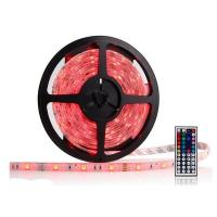 5M Ribbon LED RGB Strip Lights 60LEDS IP65 Self - Adhesive For Bedroom Manufactures