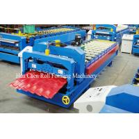 China Wall Panel / Glazed Tile Roll Forming Machine , Auto Cold Roll Forming Equipment on sale