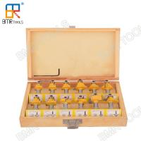 China High Performance 8 MM Classic Router Bit Set Most Uses able In 12 Shapes Rotary Tool  from BMR TOOLS on sale