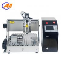 China CNC router for marble engraving 3040 4 axis 3d cnc router High precision AMAN3040 cnc carving machine on sale