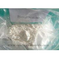Benzocaine Local Anesthetic Drugs 94-09-7 , Pharma Grade Raw Steroid Powder Manufactures