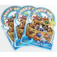 China NOAH'S ARK Title Custom Book Printing For Children , Die Cutting Handle on sale