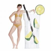 Giant Cocktail Drink Inflatable Float Summer Swim Pool Party Toy Adult Water Toy Manufactures
