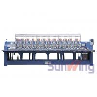 Cording / Tapping Mixed Computerized Embroidery Machines For Bedding Manufactures