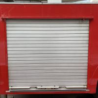 China Aluminun Alloy Truck Roller Shutters  White Color 3 years Warranty on sale