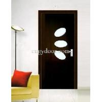 Painting Free PVC Glass Interior Wooden Door (GY-KG20) Manufactures