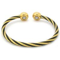 Stainless steel, titanium, copper, alloy, tungsten steel magnetic bangle  Manufactures