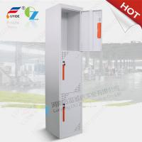 Three door steel locker FYD-G003,H1850XW380XD450mm,Knocked down structure,white color Manufactures