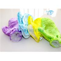 Microfiber Wash Mitt Gloves Good Helper For Kitchen Dishes Cleaning Manufactures