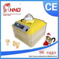 China Full Automatic Egg-Turning 96 eggs incubator for sale With CE approved on sale