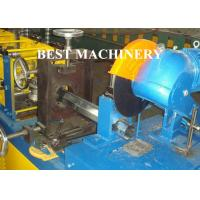 Gavalnized Octangle Tube Rolling Machine Hydraulic Cutting Type For Shutter Door Manufactures
