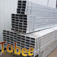 Rectanguler steel pipe for construction hot dipped galvanized Manufactures