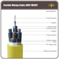 Coal Mining Flexible Rubber Cable , 1 Ground Core Rubber Sheath Cable Manufactures