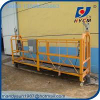 Buy cheap ZLP800 Aluminum Electric Scaffolding 800kg Aluminum Suspended Platform for sale from wholesalers