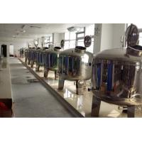 Mirror Polish Water Treatment Accessories SS304 SS316 Stainless Steel Filter Tank  /  Pre Treatment Tank Manufactures