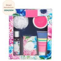 China OEM Travel Body Care Bath Gift Set , Women'S Bath And Body Gift Sets on sale