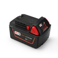 Melasta 18V 3000mAh Lithium-ion Battery for Milwaukee M18 Red XC 48-11-1815 48-11-1820 48- Manufactures