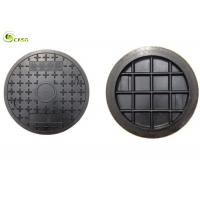 Heavy Cast Iron Manhole Cover Round Composite Well Lid Rain Grate With Frame Manufactures