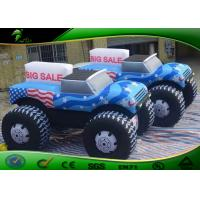 Customized Inflatable Car Shapes / Giant Inflatable Car Model Balloon For Advertising Manufactures