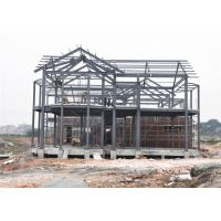 China Fire Proof Prefab Steel House For Living Customized Design Demountable on sale