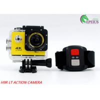 Mini 900mAh USB2.0  4k Sports Action Camera 2.0 Inch For 30M Underwater Manufactures
