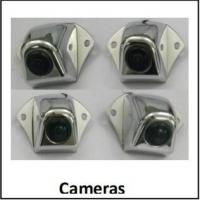 Quality 360 Degree Around View Bus Camera Systems ,Four-way DVR in Real Time, Bird View for sale