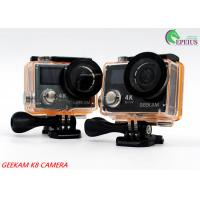 Waterproof 30 M Dual Screen Action Camera 17 0Degree 360 VR 4K With Continuous Shooting Manufactures