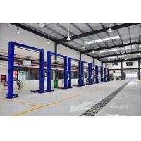 Workshop Prefabricated Steel Buildings With Glass Wool Sandwich Panel Wall Manufactures