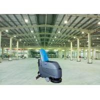 Periodic Duty Walk Behind Floor Scrubber Wire Type Environment - Friendly Product Manufactures