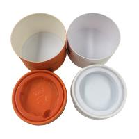 Oil Cream Cosmetic Tube Packaging With PET Insert Cylindrical Tube Packaging Manufactures