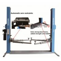 One Side Manual Two Post Hydraulic Car Lift Mechanical Release Manufactures