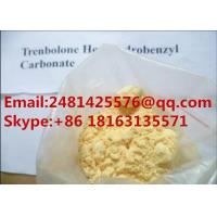 99% Purity Trenbolone Hexahydrobenzyl Carbonate Powder CAS 23454-33-3 For Muscle Growth Manufactures
