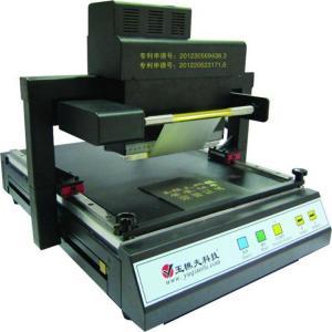 Hot sale digital gold foil stamping machine ,plastic id card printing machine,flatbed pvc Manufactures