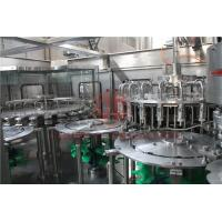 China Hot Temperature Juice Filling Capping Labeling Machines With Return System on sale
