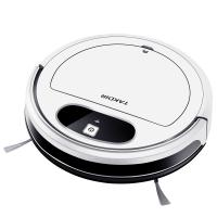 China 2000Pa Strong Suction Remote Control Robot Vacuum Cleaner 28W With App Control on sale