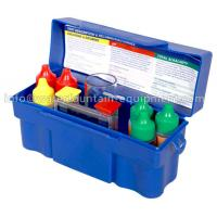 Chlorine Test Kit Swimming Pool Accessories For Spa Water 7 - Way Test Manufactures