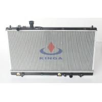 Aluminum Auto Mazda Radiator For Haima 3 2010 With High Cooling AT , Plastic tank Manufactures