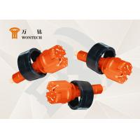 Hard Rock Blasting Tools , Concentric Drilling System With Three Flushing Holes Manufactures