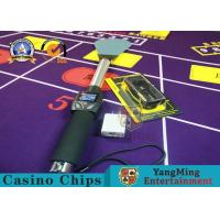 Custom RFID Casino Chips Checker High Frequency Scanner / Casino Grade Poker Chips Manufactures