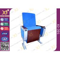 China Pure Aluminum Alloy Structure Cinema Theater Chairs With Big Folding Dining Table on sale