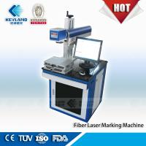Hot Keyland Fiber Laser Marking Machine 10W 20W 30W 50W Manufactures