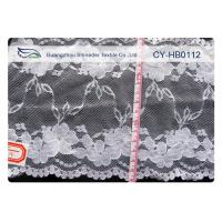 China 100% Nylon Lace Fabric , High Tenacity for Garment , Dress CY-HB0112 on sale